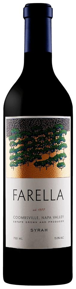 Farella Vineyard Estate Syrah Bottle Preview