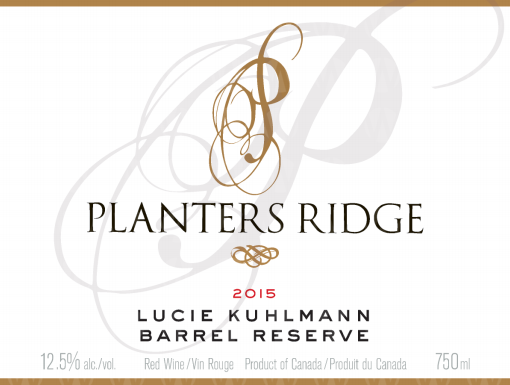 Planters Ridge Winery Lucie Kuhlmann Small Lot Barrel Reserve