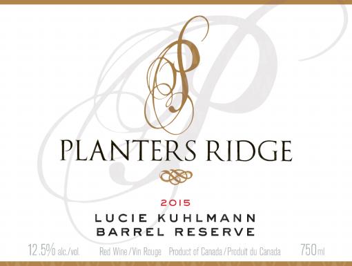 Planters Ridge Winery Lucie Kuhlmann Small Lot Barrel Reserve