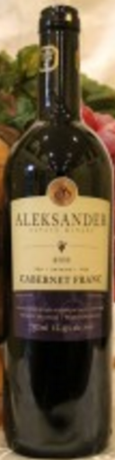 Aleksander Estate Winery Cabernet Franc