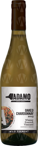 Adamo Estate Winery Wismer-Foxcroft Vineyard Wild Ferment Chardonnay – Grower's Series