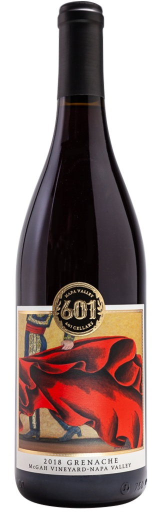 Napa Valley Grenache- Heritage McGah Vineyard Bottle
