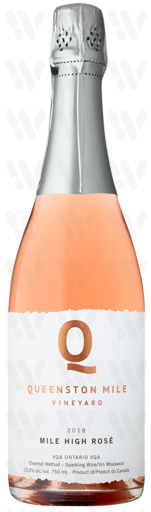 Queenston Mile Mile High Sparkling Rose