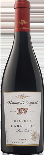 Beaulieu Vineyard BV Reserve Pinot Noir Los Carneros Bottle Preview