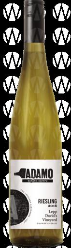 Adamo Estate Winery Lepp David's Vineyard Dry Riesling  Grower's Series