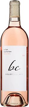 Brady Cellars Dry Rosé Bottle Preview