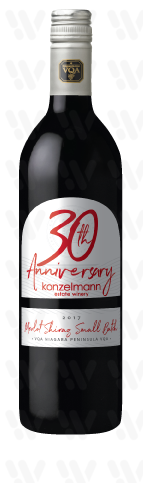 30th Anniversary 30th Anniversary Merlot Shiraz Small Batch