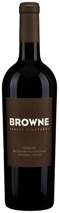 Browne Family Vineyards Estate Merlot Bottle Preview