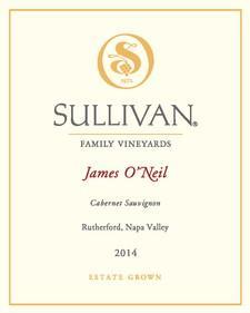 Sullivan Vineyards Cabernet Sauvignon James O'Neil Bottle Preview