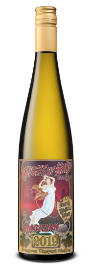 Sleight of Hand Cellars The Magician Riesling Bottle Preview