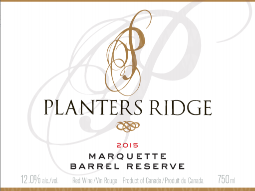 Planters Ridge Winery Marquette Small Lot Barrel Reserve