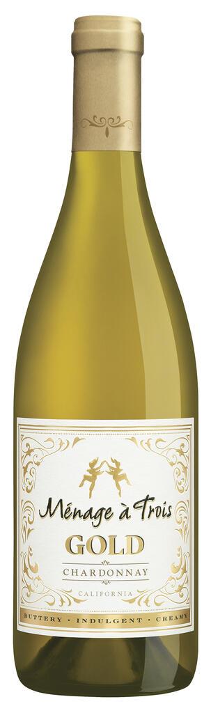Ménage à Trois Wines Ménage à Trois Gold Chardonnay Bottle Preview