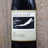 Frog's Leap Winery Petite Sirah Bottle Preview