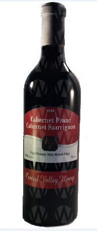 Central Valley Winery Cabernet Franc Cabernet Sauvignon