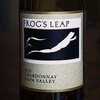 Frog's Leap Winery Chardonnay Bottle Preview