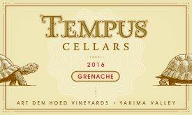 Tempus Cellars Grenache Bottle Preview