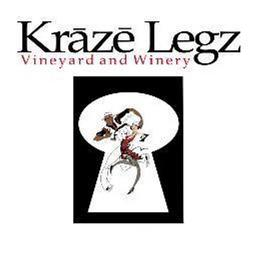 Kraze Legz Vineyard and Winery Logo