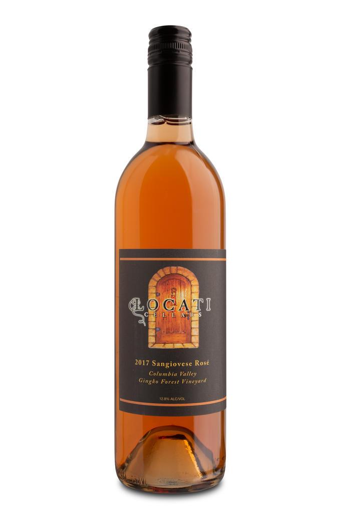 Locati Cellars Rose of Sangiovese Bottle Preview