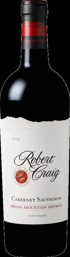 Robert Craig Winery Spring Mountain Cabernet Sauvignon Bottle Preview