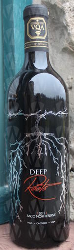 Hernder Estate Winery Deep Roots Baco Noir