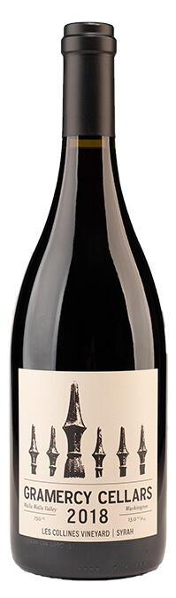 "Gramercy Cellars Syrah ""Les Collines Vineyard"" Bottle Preview"