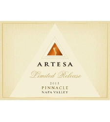 Artesa Winery Limited Release Pinnacle Bottle Preview