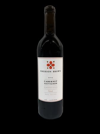 Emerson Brown Wines Oakville Cabernet Sauvignon Bottle Preview