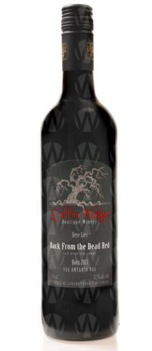 Coffin Ridge Boutique Winery Back From the Dead Red