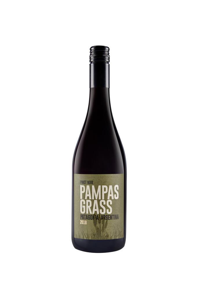 PAMPAS GRASS Pinot Noir Bottle