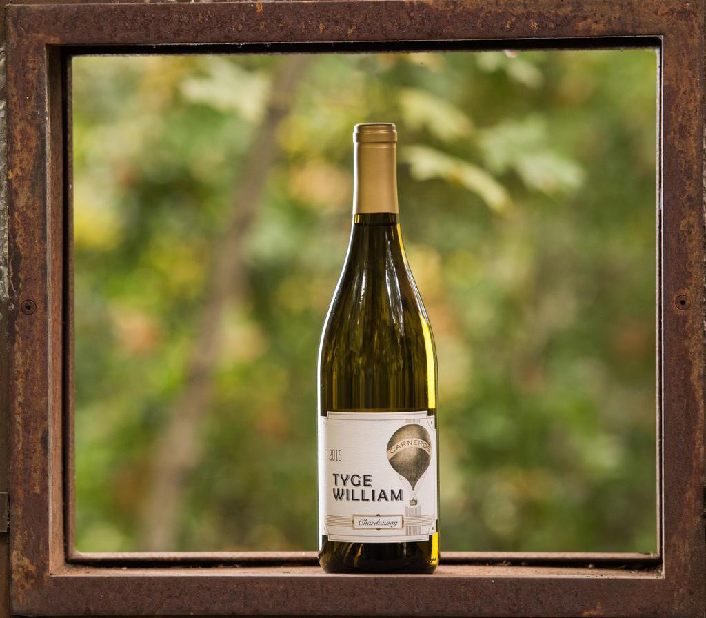 Tyge William Cellars Cornerstone Vineyard Chardonnay Bottle Preview
