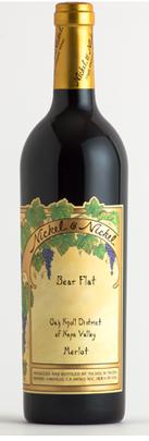 Bella Union Winery Nickel & Nickel Bear Flat Merlot, Oak Knoll District, Napa Valley Bottle Preview