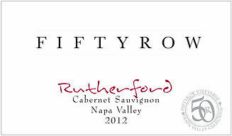 Fiftyrow Vineyards Fiftyrow Napa Valley Rutherford Cabernet Bottle Preview