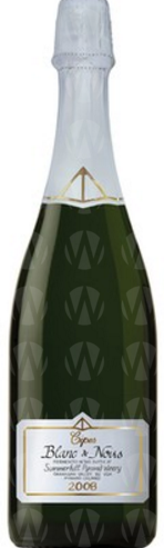 Summerhill Pyramid Winery Cipes Blanc de Noirs