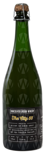 Vancouver Urban Winery Blanc de Noir Brut In Collaboration With Backyard Vineyard