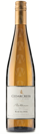 CedarCreek Estate Winery Platinum Block 3 Riesling