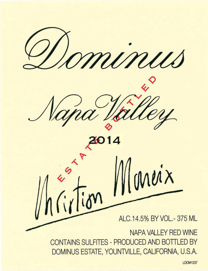 Dominus Estate DOMINUS Bottle Preview