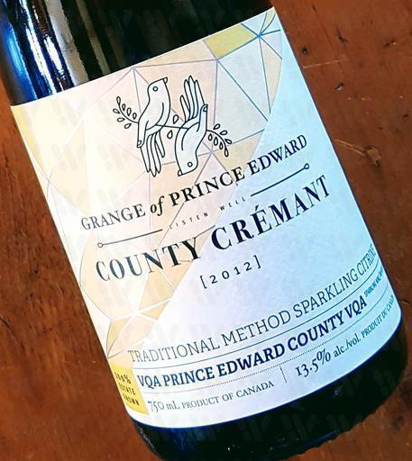 The Grange of Prince Edward Vineyards and Estate Winery Country Crémant 'Citrine'
