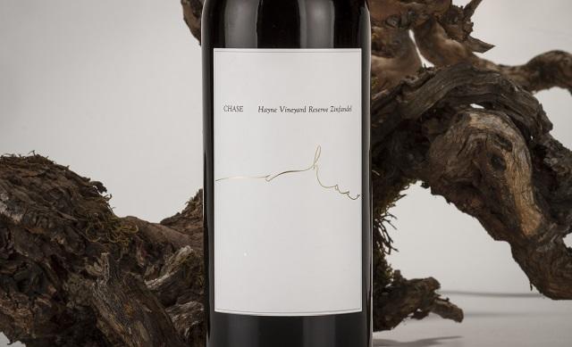Chase Cellars CHASE Hayne Vineyard Reserve Zinfandel Bottle Preview