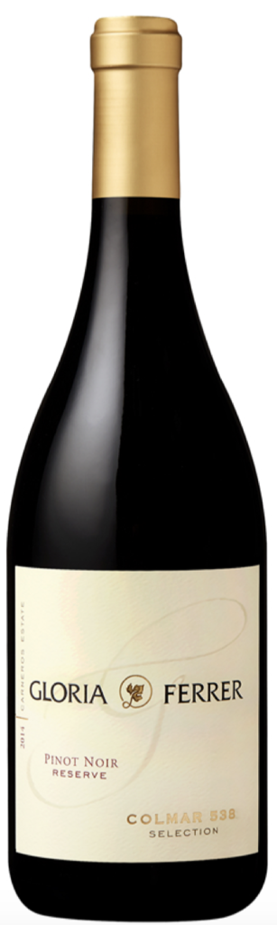 Gloria Ferrer Estate Varietals Colmar 538 Selection Pinot Noir Bottle Preview