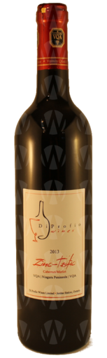 Di Profio Wines Ltd. Zinc-Tastic Cabernet Sauvignon - Merlot blend