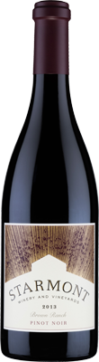 Starmont Winery & Vineyards Pinot Noir, Brown Ranch Bottle Preview