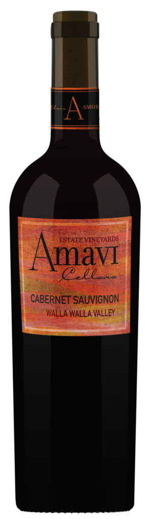 Amavi Cellars Cabernet Sauvignon Bottle Preview