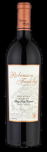 Robinson Family Vineyards Estate Merlot Bottle Preview