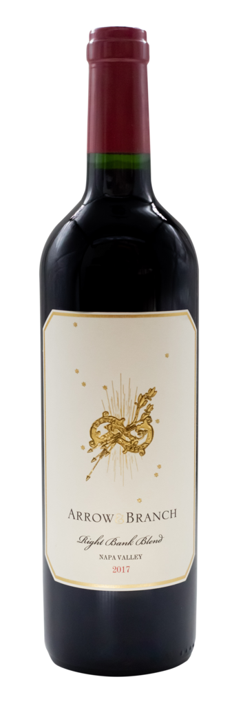 """Arrow&Branch Red Wine """"Right Bank Blend"""" Bottle Preview"""