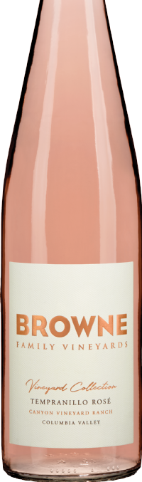 Browne Family Vineyards Tempranillo Rose Bottle Preview