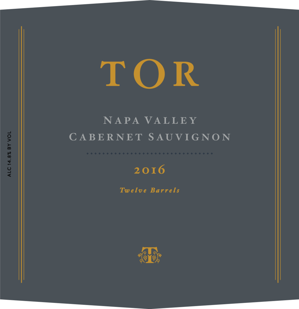 TOR Wines Napa Valley Cabernet Bottle Preview