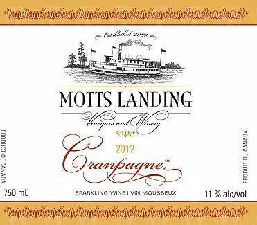 Motts Landing Estate Winery Cranpagne