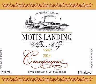 Motts Landing Estate Winery Cranpagne