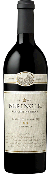 Beringer Vineyards REGIONAL ESTATES Beringer Private Reserve Cabernet Sauvignon Napa Valley Bottle Preview