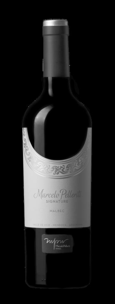 Marcelo Pelleriti Signature Malbec Bottle